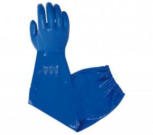 Gant protection chimique manchette G901 EN388 4.1.1.1 EN374 Juba