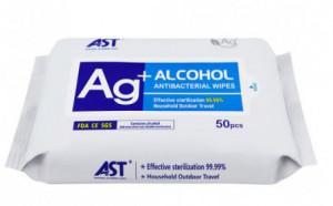 Carton de 42 sachets de 50 lingettes désinfectantes multi-usage  EN1276