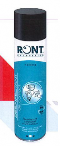 Aérosol RONT désinfectant de contact 400mL