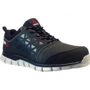 Chaussure de sécurité Excel Light Black Leather S3 SRC Reebok